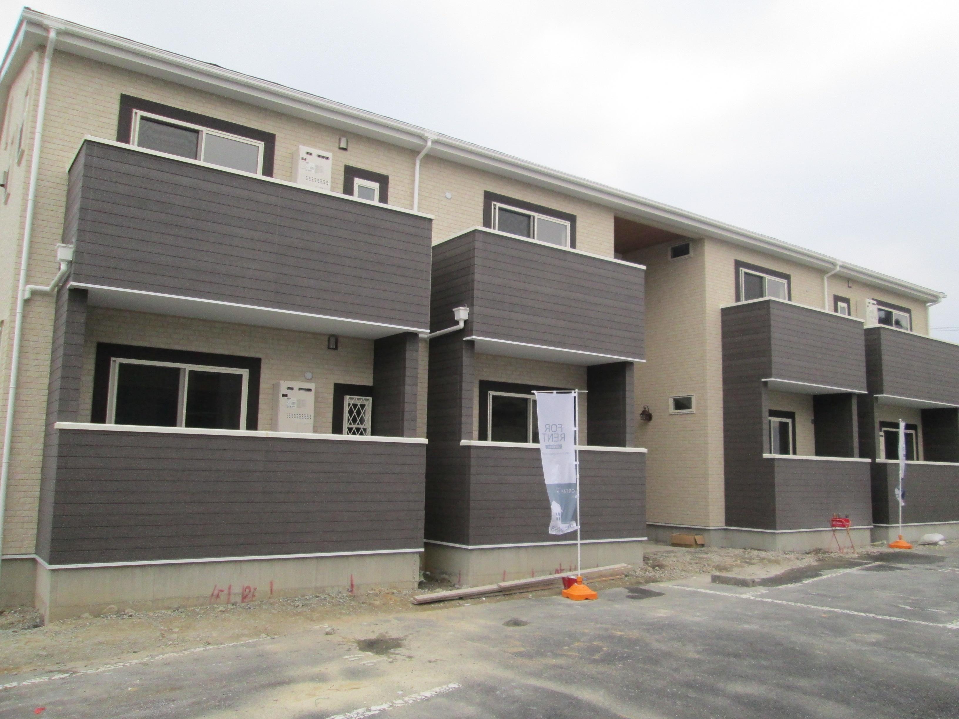 新築アパート施工事例【室内写真・2階】